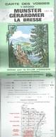 Club Vosgien / I.G.N. : MUNSTER / GERARDMER / LA BRESSE - 1 / 50 000ème - 1979. - Cartes Topographiques