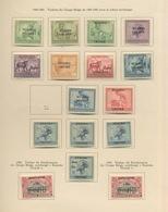 1920-1924  Parties De Séries  Cote + 44,-Euros - Ruanda-Urundi