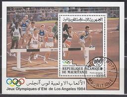 1984 LosANGELES - Mauretanien - MiNr: 826  Block 58  Used - Sommer 1984: Los Angeles