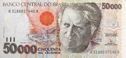 Brazil 50.000 Cruzeiros, P-234 (1992) - UNC - Sign.29 - Brazil
