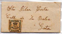 Carta Pequeña Direccion Gata. - Covers & Documents