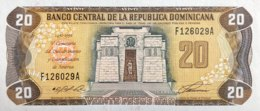 Dominican Republic 20 Peso Oro, P-139 (1992) - UNC - Dominicana