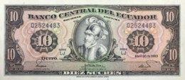 Ecuador 10 Sucres, P-114b (20.4.1983) - UNC - Ecuador