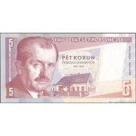 TWN - CZECHOSLOVAKIA - 5 Korun Česk. / Schilling 2019  75th Ann. Porsche 365 - Low Serial A1 000XXX UNC Private Issue - Banknotes