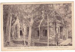 Cambodge - Angkor - 1946 - Ta Prohm - Pavillon D'entrée # 3-19/24 - Cambodge