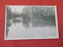 June Flood Of 1908  Kansas City 16 Th Street  Looking Toward Stock Exchange  -ref 3368 - Disasters