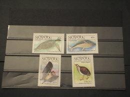 (TONGA)-NIUAFUOU - 1984 FAUNA 4VALORI - NUOVI(++) - Tonga (1970-...)