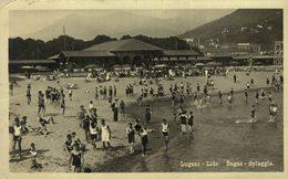 LUGANO - LIDO  BAGNO - SPIAGGIA  Suiza Switzerland Suisse Schweiz - TI Tessin