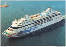 Hafen / Harbour / Port / Schiffe / Ships / Bateaux: Aida (D-A206) - Schiffe