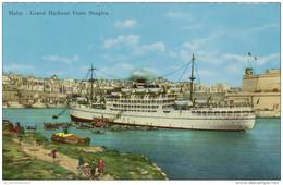 Hafen / Harbour / Port / Schiffe / Ships / Bateaux: Malta (D-A206) - Unclassified