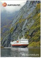 Hafen / Harbour / Port / Schiffe / Ships / Bateaux: Hurtigruten (D-A206) - Schiffe