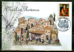 Santon; Noël / Christmas; Crèche / Crib.  Aix-en-Provence. Année 2005; Carte Maximum Card. (0896) - 2010-...