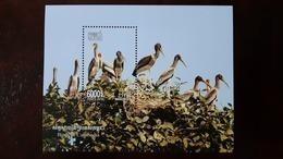 CAMBODIA/ S/S  The Birds Of Cambodia Inssued 2018. - Cambogia