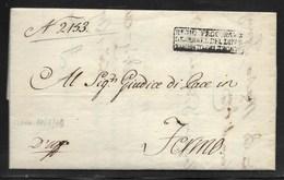 NAPOLEONICHE - REGIO PROCURATORE DIPARTIMENTO DEL TRONTO PER FERMO - 15.7.1810. - Italia