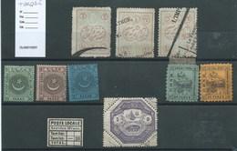 TURQUIE - POSTE LOCALE. De B à TB. - 1858-1921 Ottoman Empire