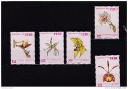 Peru Nº 539 Al 543 - Peru