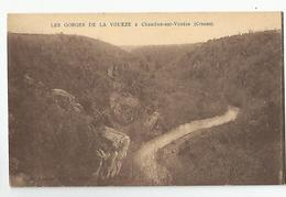 23 Creuse - Chambon Sur Vouèze Les Gorges De La Voueze - Chambon Sur Voueize