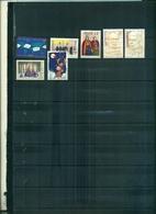 BELGIQUE 125 U.PU.-FOLKLORE 99 -ECRIVAINS- NOEL 98-99 7 VAL NEUFS A PARTIR DE 0.75 EUROS - Belgique