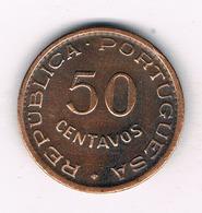50 CENTAVOS  1958 ANGOLA /4206/ - Angola