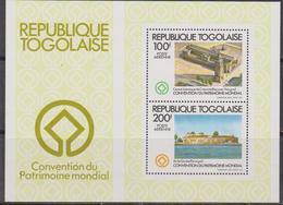 Togo 1982 UNESCO Sheet MNH - UNESCO