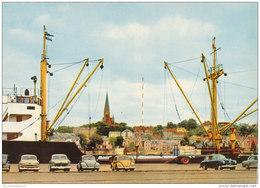 Flensburg / Hafen / Auto / Schiffe (D-A129) - Flensburg