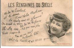 L120B261 - Les Rengaines Du Siècle - A.Bergeret - Carte Précurseur - Bergeret