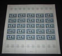 France 1969 Neuf** N° 1606 Escadrille Normandie-Niemen   Feuille Complète (full Sheet) - Feuilles Complètes