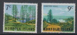 Norfolk Island 1966 Scenes 2v ** Mnh (42815M) - Norfolk Eiland