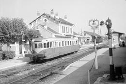 Gare De Saint-Florent-sur-Cher. Cliché Jacques Bazin. 01-10-1959 - Trains