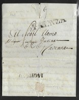 DA FAENZA RAVENNA - 15.6.1843. - Italia