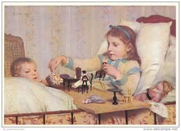 Malerei / Kunst / Gemälde: Albert Anker (D-A204) - Paintings