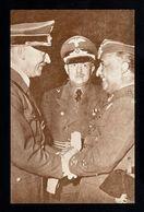J115-GERMAN EMPIRE-PROPAGANDA POSTCARD ADOLF HITLER-FRANCO.1947.WWII.,DEUTSCHES REICH.POSTKARTE.Carte Postale - Germany
