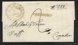 DA CODIGORO A CONSELICE - 19.6.1833. - Italia