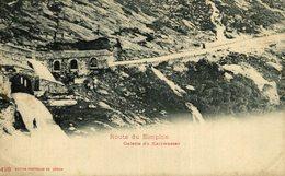 ROUTE DEU SIMPLON GALERIE DU KALTWASSER  Suiza Switzerland Suisse Schweiz - VS Valais