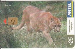 URUGUAY - Puma(274a), 03/03, Used - Uruguay