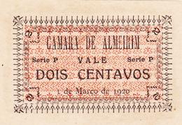 Portugal -Cédula De Almeirim  Nº- 172 Série P - Portugal