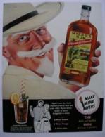 MYERS RUM -ORIGINAL 1960 MAGAZINE ADVERT. - Advertising