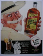MYERS RUM -ORIGINAL 1960 MAGAZINE ADVERT. - Sonstige