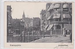 Amsterdam Koningsplein Levendig Paardentram # 1903   1810 - Amsterdam