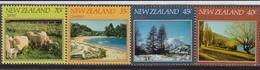 New Zeland Paesaggi Landscape Set MNH - Holidays & Tourism