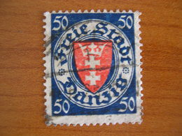 Dantzig  Obl N° 184 - Autres - Europe