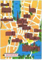 Landkarte / Map / Mapcard: Schwerin (D-A207) - Maps