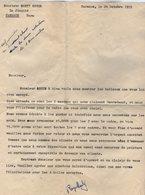 VP14.953 - CARMAUX 1955 - Lettre De Mr R. MARTY Relative à La Vente De 2 Tableaux De Mr E. GONY Artiste - Peintre - Alte Papiere