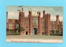 Hampton Court Palace (London) Clock Court Gateway & Great Hall, CPA 1907 - London Suburbs