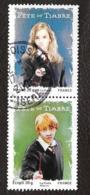 TIMBRES FRANCAIS...OBLITERATIONS RONDES...  2007...PAIRE HARRY POTTER...N°4025/4026...TBE... - France