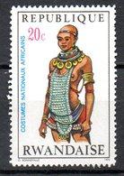 RWANDA. N°346 De 1970. Costume National. - Kostüme