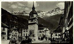 ALTDORF DORFPLATZ MIT TELLDENKMAL  Suiza Switzerland Suisse Schweiz - UR Uri