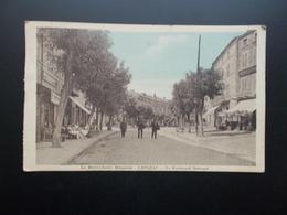 LANGEAC   Le Boulevard National  1929 - Langeac