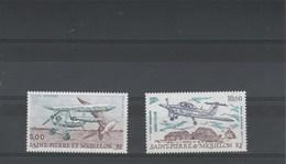 Saint Pierre Et Miquelon  Yvert  PA 69 Et 70 ** Neuf Sans Charnière - Avion - Airmail