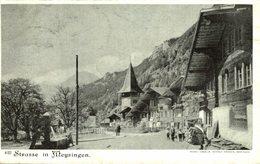 STRASSE IN MEYRINGEN  Suiza Switzerland Suisse Schweiz - BE Berne